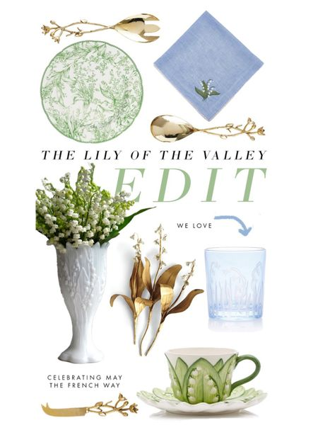 Celebrating May the French way with all things Lily of the Valley and more Mother's Day gift ideas! #LTKhome http://liketk.it/3e2UM #liketkit @liketoknow.it