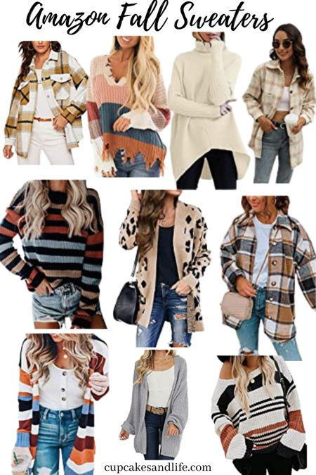 Amazon Fall Sweaters   #LTKSeasonal #LTKunder50 #LTKstyletip