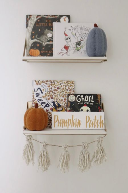 Halloween bookshelves   #LTKhome #LTKkids #LTKSeasonal