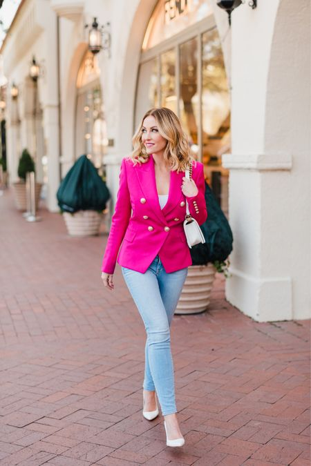 Nothing says boss babe quite like a bold blazer 💕 This year I went back to work, launching our new charity initiative under The Hollman Family Foundation which you will see more of this year on The Real Housewives of Dallas! #LTKOffice  http://liketk.it/365lz #liketkit @liketoknow.it