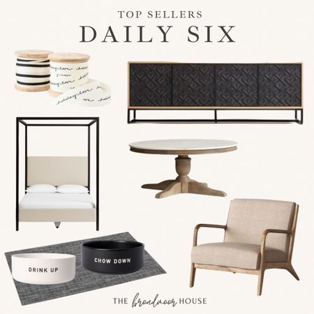 Best sellers from yesterday! Christmas wrapping, bedroom furniture, canopy bed, pottery barn, coffee table, target furniture, side chair, accent chair, TV cabinet, media Console, West Elm, crate and barrel, dog bowls, puppy, neutral Decor, Modern Decor, Neutral Furniture, Christmas wrapping, Christmas ribbon, black-and-white,  #LTKstyletip #LTKcurves #LTKhome