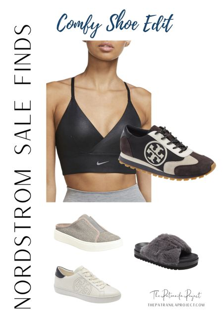 #nsale #nordstromanniversary  #LTKsalealert #LTKunder100 #LTKstyletip  Tory Burch trainers Tory Burch sneakers Nike long line sports bra http://liketk.it/3jyCg @liketoknow.it #liketkit
