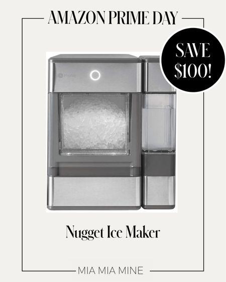 Amazon Prime Day picks Nugget ice maker on sale now! Save $100 #amazonprimeday  #LTKsalealert #LTKhome