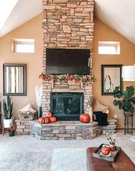 Fall home decor. Minimalist, inexpensive fall decor for your home. More at Fresh Air and False Lashes .com #falldecor   #LTKhome #LTKunder50 #LTKSeasonal