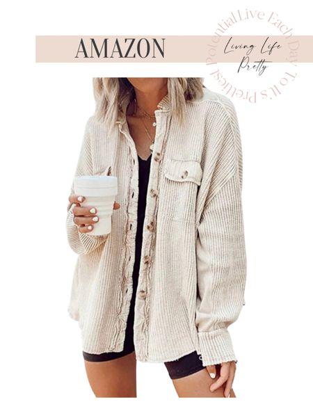 Amazon shacket Amazon style Shacket   #LTKstyletip #LTKSeasonal #LTKHoliday