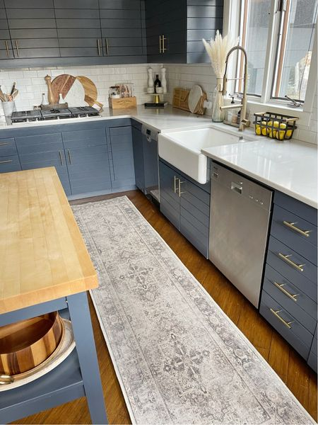 H O M E \ Washable kitchen runner FTW🏠 Talking about it on stories today!  #runner #kitchen #kitcendecor #rug   #LTKhome