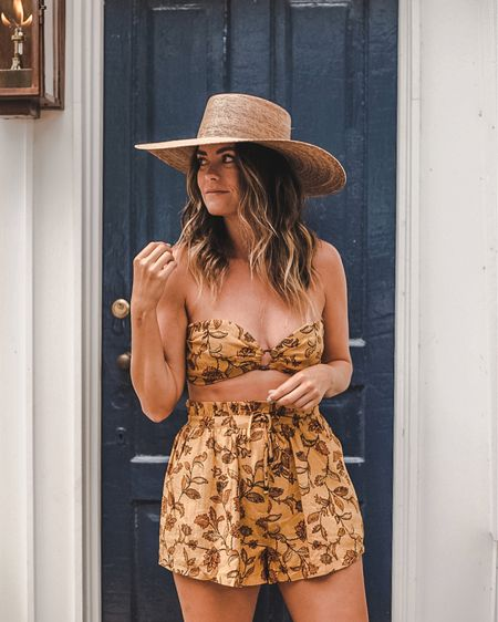 end of summer vibes in this two piece set — I'm wearing a size small   #LTKstyletip #LTKtravel