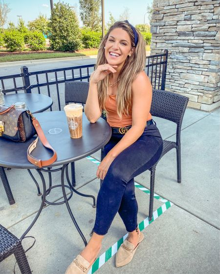 Fall nails, fall outfit, FALL STARBZ. 10/10 recommend, even on 90 degree days 🥴🍂✨ http://liketk.it/2VQur #liketkit @liketoknow.it #StayHomeWithLTK #LTKunder50 #LTKstyletip @liketoknow.it.family Shop my daily looks by following me on the LIKEtoKNOW.it shopping app