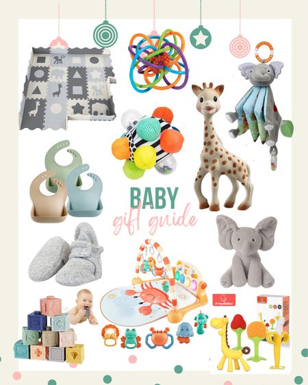 Bibs, play mats, blocks, toys, stuffed animals + more!  #LTKbaby #LTKGiftGuide #LTKkids