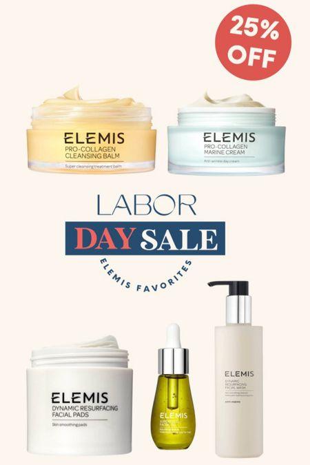 Elemis on sale. Labor Day Sale  #LTKbeauty #LTKsalealert
