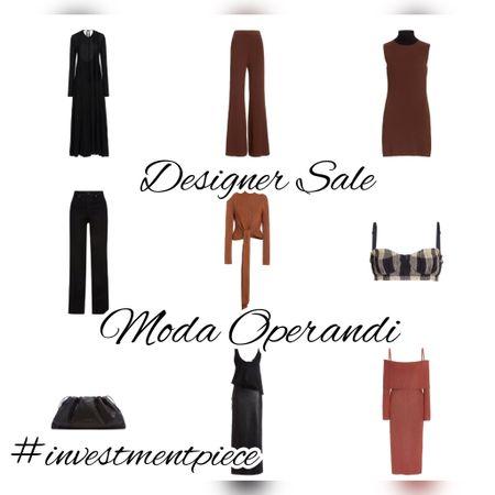 Chic and classic - and under $300! My faves from the sale @modaoperandi #investmentpiece   #LTKsalealert #LTKstyletip #LTKunder100