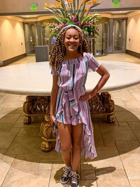 My daughter is an athlete. She loves the casual/athletic/girlie look. This outfit captures her perfectly. #Dress #TargetStyle #Rompers #RomperDress #Athletes #GirlyGirl @target   #LTKunder100 #LTKtravel #LTKkids
