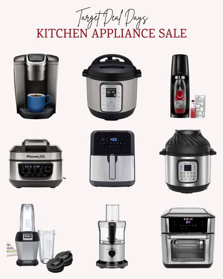 These are such good deals on small kitchen appliances during Targets Deal Days sale!  Double tap this post to save it for later.   Follow me for more ideas and sales.   #LTKunder100 #LTKhome #LTKsalealert