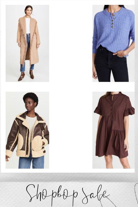 Sweaters, jackets, fringe, under $200, shopbop sale   #LTKsalealert #LTKHoliday #LTKSeasonal