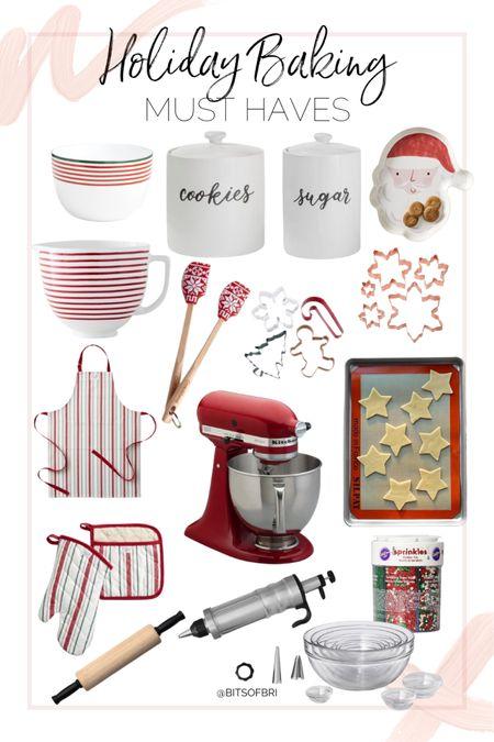 Holiday baking must haves!   Kitchen essentials. Baking items. Christmas. Holidays    #LTKHoliday #LTKhome #LTKSeasonal