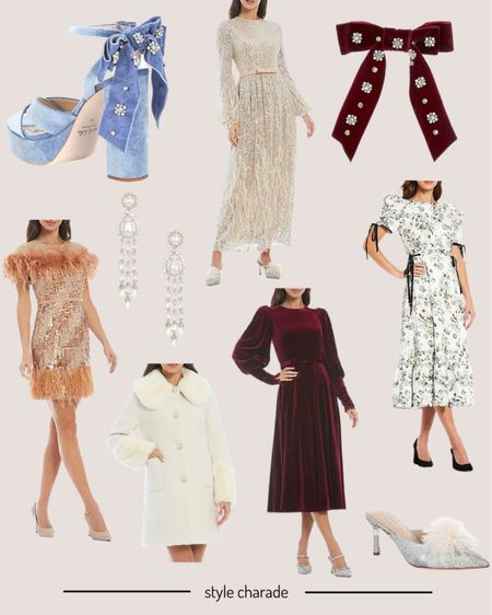 Fall dresses, wedding guest dresses, fall outfits, holiday dresses   #LTKwedding #LTKSeasonal