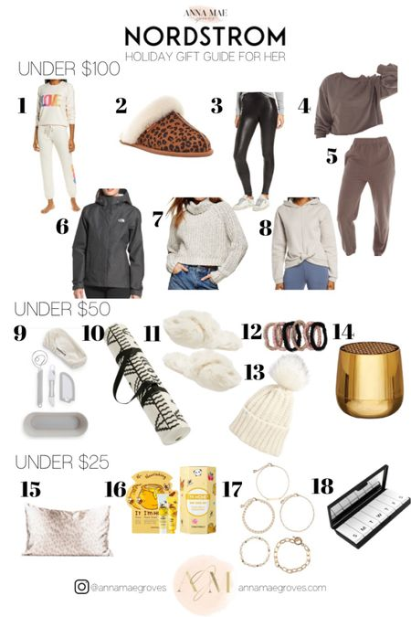 My #Nordstrom #giftguide for her- under $100 -Under $50 -Under $100 is up! Shop these and more on annamaegroves.com! http://liketk.it/32EH9 #liketkit @liketoknow.it #LTKunder100 #LTKunder50 #LTKgiftspo