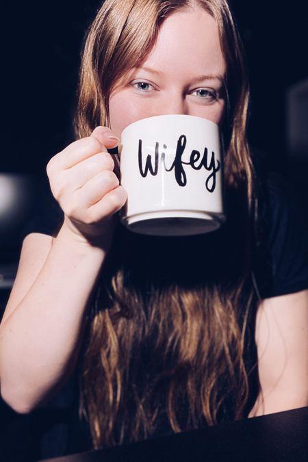 Cute Hubby/Wifey coffee mugs for Valentines Day! http://liketk.it/37QEC #liketkit @liketoknow.it #LTKVDay @liketoknow.it.family