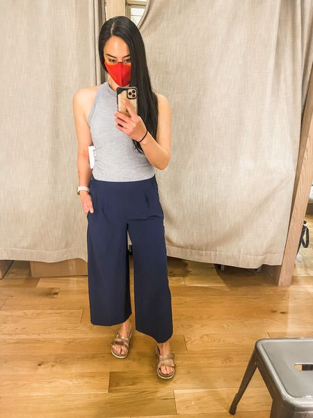 Cute, comfortable spring look- I love these wide leg pants. They're super ligh weight and great for warm weather. http://liketk.it/3cnvS #liketkit @liketoknow.it