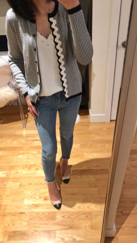 This cardigan is now on sale at Ann Taylor for $32! I took size SP for a relaxed fit. 🛍 @liketoknow.it http://liketk.it/2u9uB #liketkit #LTKsalealert #LTKunder100 #LTKunder50 #LTKstyletip