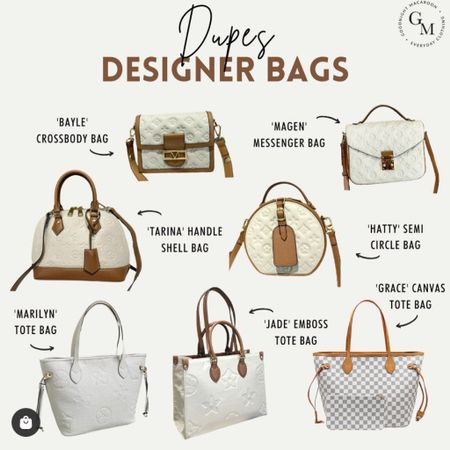 Louis Vuitton dupes and designer dupes you love!!! http://liketk.it/3hqNd #liketkit @liketoknow.it #LTKsalealert #LTKstyletip #LTKitbag