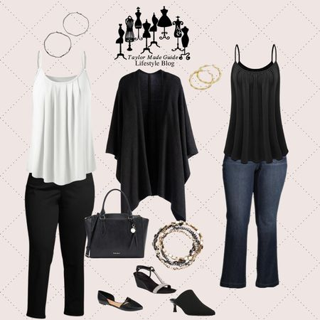 whether it's hybrid working dropping the kids off in the morning running errands these pieces will always keep you looking pulled together and chic.  #LTKcurves #LTKstyletip #LTKworkwear