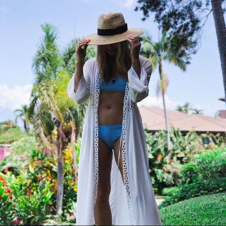 Favorite summer hat and swim coverups http://liketk.it/3hfOO #liketkit @liketoknow.it #LTKswim #LTKtravel #LTKstyletip Download the LIKEtoKNOW.it shopping app to shop this pic via screenshot