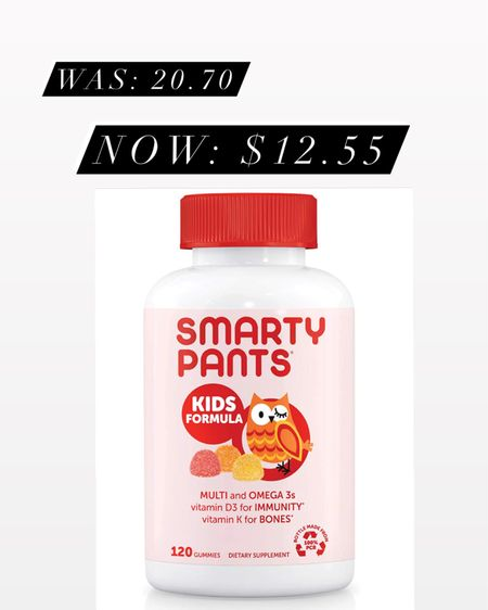 We love smarty pants vitamins and this price is a steal! Amazon prime, prime day, http://liketk.it/3iaMD #liketkit @liketoknow.it #LTKsalealert #LTKkids #LTKfamily