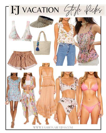 Vacation outfits, coverups, swimsuits, bikinis, resort wear   #LTKswim #LTKtravel #LTKstyletip