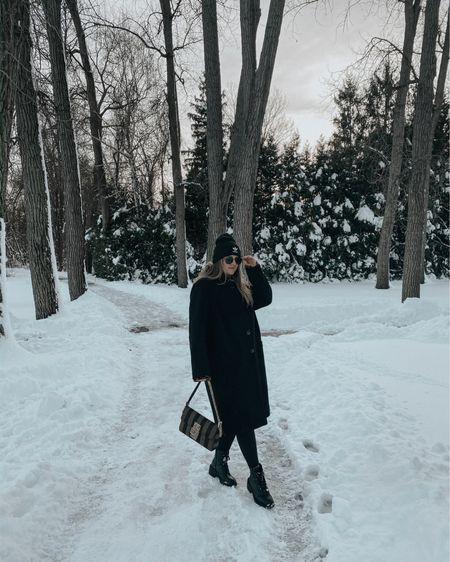 walking in a winter wonderland 🌨 http://liketk.it/34HS6 @liketoknow.it #liketkit #LTKstyletip #LTKunder100