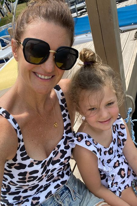Mommy and me matching swimsuits, Amazon finds, swimsuits for mom and little girl, http://liketk.it/2S55K #liketkit @liketoknow.it #LTKunder50 #LTKkids #LTKfamily