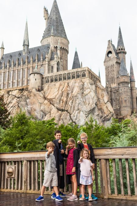 Harry Potter world outfits costumes. Universal Orlando family outfits.  #LTKtravel #LTKkids #LTKfamily