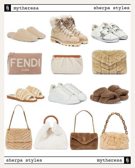 Obsessing over sherpa styles for fall! #fallstyle #fallshoes   #LTKstyletip #LTKshoecrush #LTKitbag