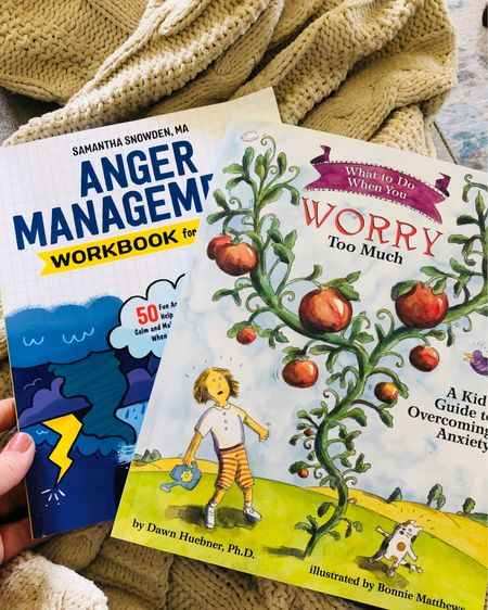 Anger and worry for kids http://liketk.it/2RVwh #liketkit @liketoknow.it