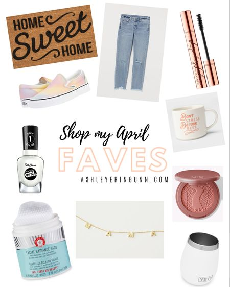 Shop all my April faves! Skincare, makeup, clothes, accessories & more. Think I'll make a baby favs list too! 😍   Shop your screenshot of this pic with the LIKEtoKNOW.it shopping app http://liketk.it/2MMsZ @liketoknow.it #liketkit @liketoknow.it.home @liketoknow.it.family #StayHomeWithLTK #LTKbeauty #LTKstyletip