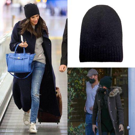 Meghan wearing Hat Attack beanie #winter #hat   #LTKunder100