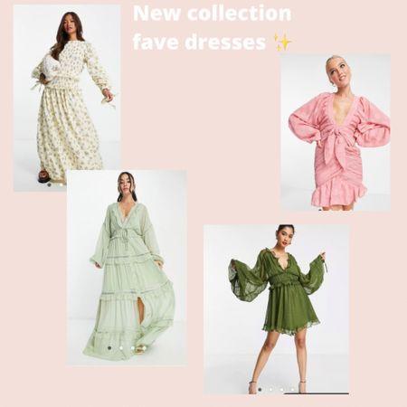New in @asos✨ the party dresses we love 💕  #LTKeurope #LTKunder100 #LTKwedding