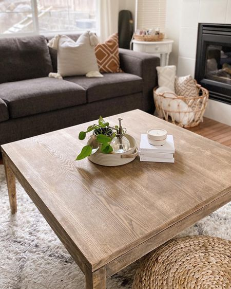 The coffee table is complete! And I'm so happy with it! What do you think?  http://liketk.it/385fr #liketkit @liketoknow.it #LTKunder100 #LTKhome #StayHomeWithLTK