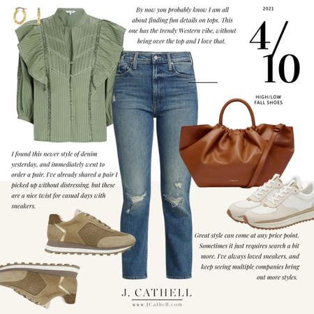 Great style can happen at any price point, so I've done a round up of high and low price points on many of my favorite shoes to wear in the fall. Some are seasonal specific to cooler weather, but a few can be worn year round. Whether you choose to invest or to save, you'll find options in nearly all budgets! Drop a comment below on another category you'd like to see done this way. Handbags? Sweaters? Denim? I'll pick the top request and put something together for y'all!     #LTKstyletip #LTKitbag #LTKshoecrush