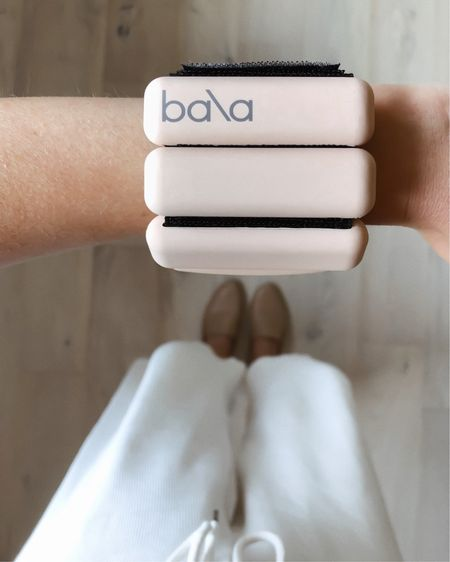 Finally got a couple sets of Bala Bangles weights so I can feel like every mundane activity or movement is a workout. 💪🏼Mine are the 1lb weights and I got a pair for my wrists and ankles—so far, so good! I've already worn them on walks and added them to my normal low-impact workout routine but also plan to try wearing them working around the house for a bit of extra weight. http://liketk.it/2X52D @liketoknow.it #liketkit #LTKitbag #LTKunder100