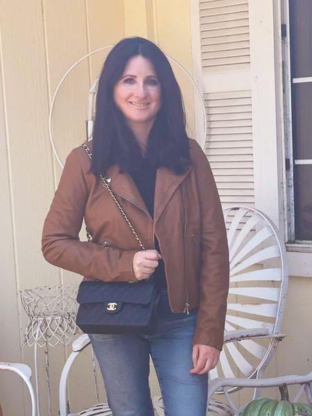 Madewell washed leather jacket on sale!   #LTKSeasonal #LTKstyletip #LTKSale