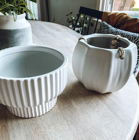 These beautiful planter pots were both under $20 TOGETHER!!! I'm so excited to plant some babies in these pots from @walmart!!!  #LTKsalealert #LTKhome #LTKunder50