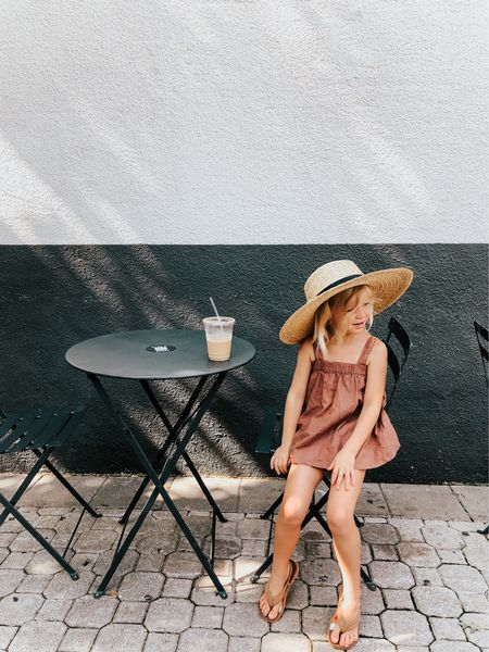 Had a pretty cute coffee date this morning. We sat outside, listened to music, people watched, freaked over a baby yellow jacket, ate a chocolate croissant (well, she did), walked the block and then went shopping. She asks 572 questions these days and keeps me laughing even when I wanna pull my hair out. 😂 This will never get old. A Friday well spent ☀️ //   #LTKkids #LTKfamily #LTKsalealert