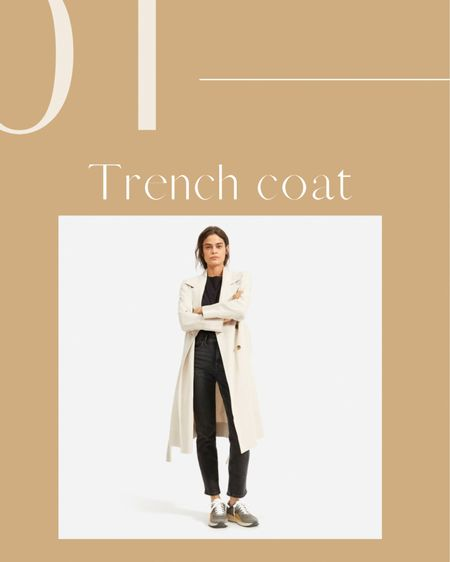 Everlane's drapey Trench coat http://liketk.it/38LNq #liketkit @liketoknow.it #LTKSeasonal #LTKworkwear #LTKstyletip