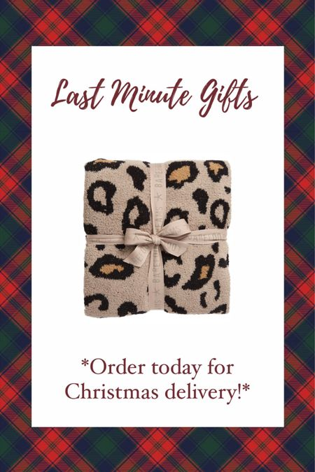 LAST MINUTE CHRISTMAS GIFT IDEAS! Order TODAY for guaranteed Christmas delivery! Barefoot dreams blankets make the BEST gifts! I have one & im obsessed! Gift guide— gift guide for her— Nordstrom gift guide #liketkit #LTKgiftspo @liketoknow.it http://liketk.it/34gHV