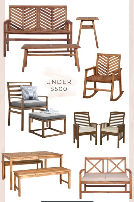 Outdoor patio furniture under $500! http://liketk.it/3idU7 #liketkit @liketoknow.it #LTKfamily #LTKhome #LTKsalealert