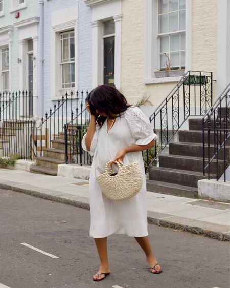 This dress is sadly sold out in store but I found a real similar one and I added a few of my other favourites that are white also.  #LTKeurope #LTKsalealert #LTKstyletip