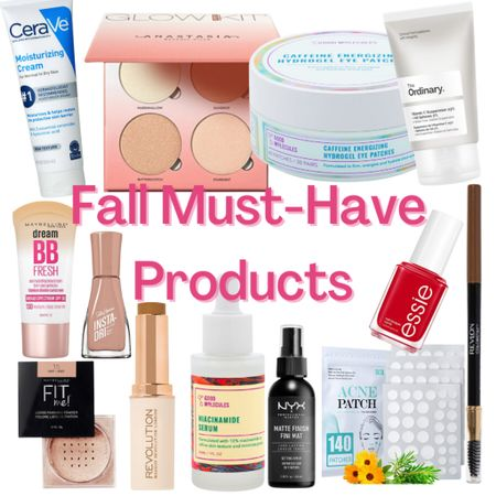 Here's a list of fall must-haves that you seriously need to RUN to go get!!   #LTKunder50 #LTKbeauty #LTKSeasonal