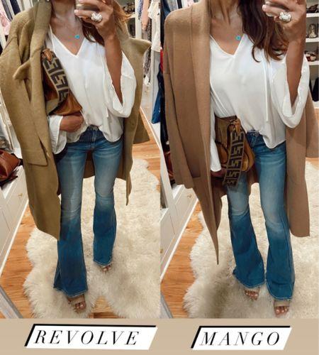 Shopshalicenoel peasant top, fares, coatigan   #LTKsalealert #LTKshoecrush