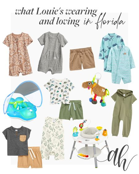 Baby boy clothes, baby essentials for warm weather  #LTKbaby #LTKfamily #LTKkids